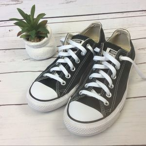 Converse All Star Black Sneakers, Size 8
